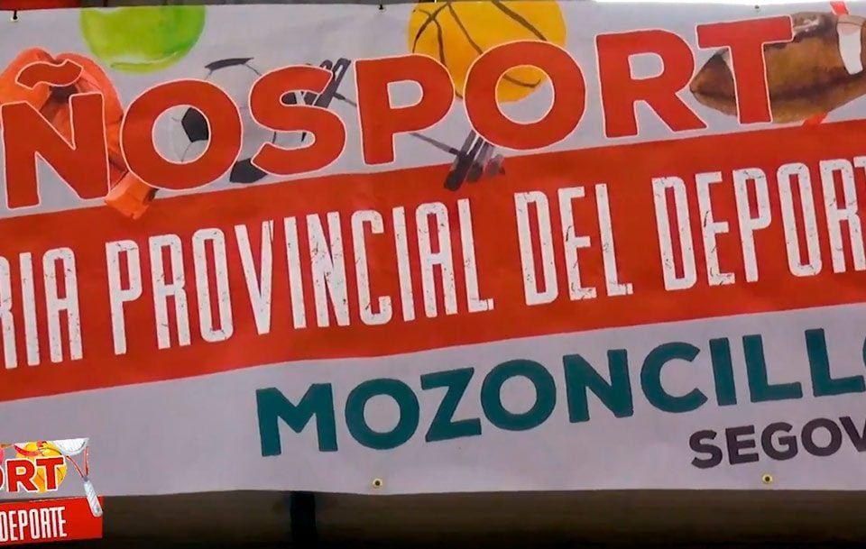 Imágenes de la primera Feria Provincial del Deporte en Mozoncillo