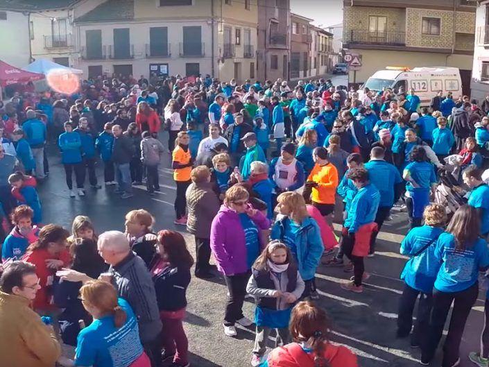 II Marcha Solidaria en Mozoncillo